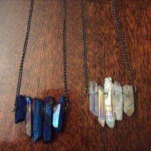 Jewelry - crystal necklace 🌸🌷 tiny bottle necklace