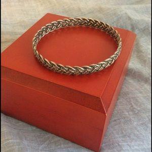 Jewelry - SALE🔥🔥🔥Braided Silver Bracelet ⚱