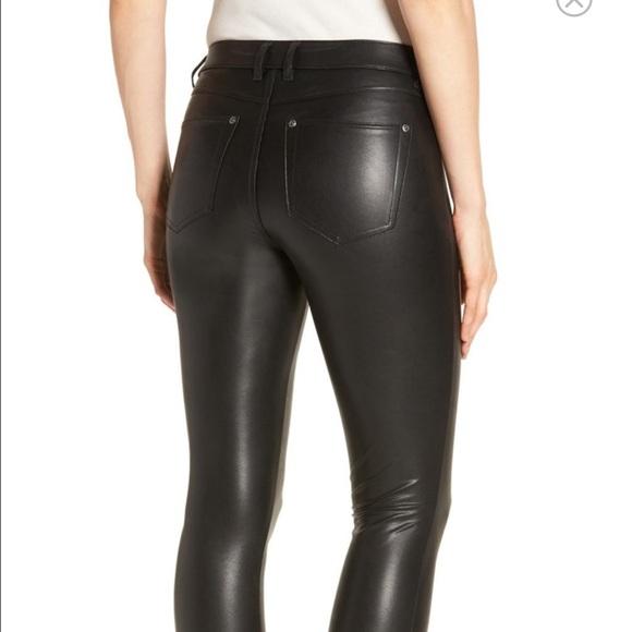 f4cf9115aa74a HUE Pants | Faux Leather Leggings | Poshmark