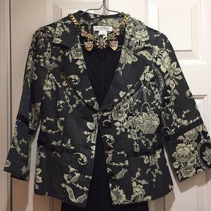 White House Black Market Jackets & Blazers - White House Black Market brocade Jacket