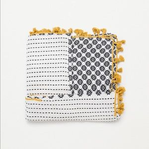 Looking for this Zara printed scarf with pompom