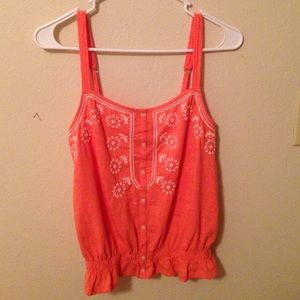 Coral American Eagle Tank Top