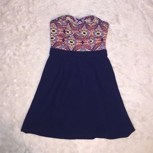 Xhilaration Dresses & Skirts - Xhilaration Strapless Dress