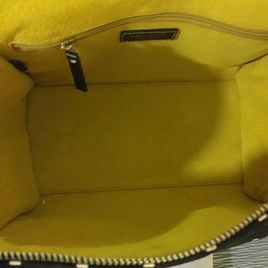 kate spade Bags - Adorable RARE!! Kate Spade black polka dot satchel