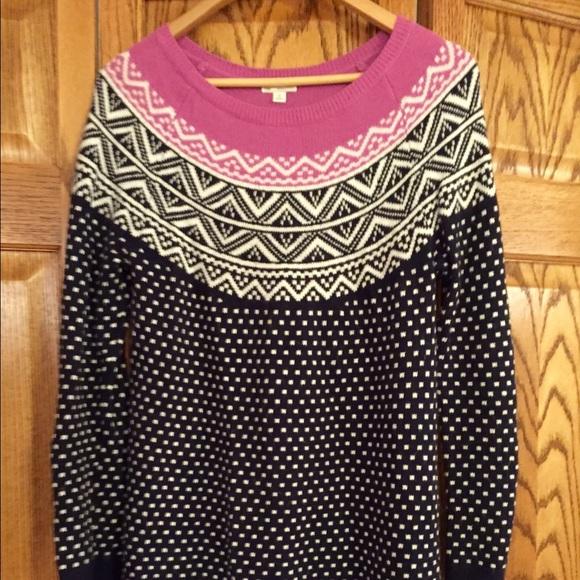 85% off GAP Tops - Gap fair isle tunic/sweater dress from ...