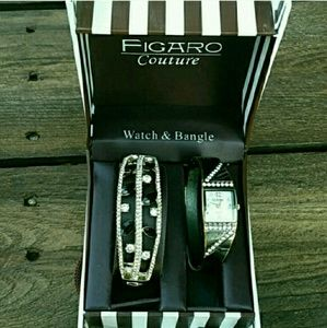 Jewelry - Watch and bangle set sold together