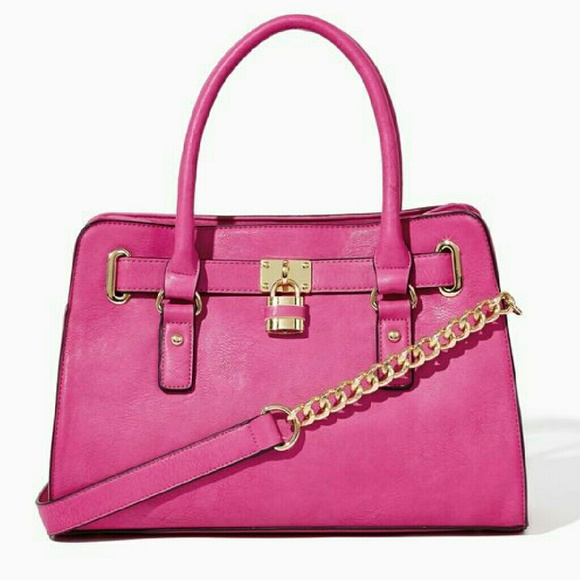 acd1d688b318 50% off Michael Kors Handbags - Charming Charlie Hot Pink Lady Lockbox Purse  from Ashley&
