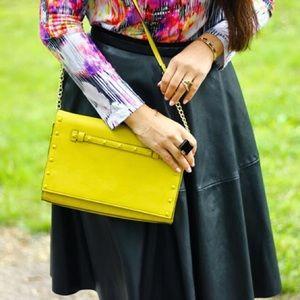 Neiman Marcus Handbags - Yellow bag