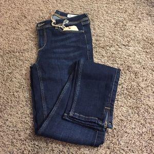 Zara Mid Rise Skinny Jean