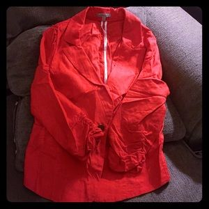 Charlotte Russe red blazer