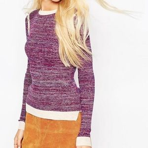 Nwt ASOS retro sweater
