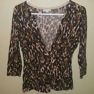 SALE!!! NY&C Leopard Print Cardigan