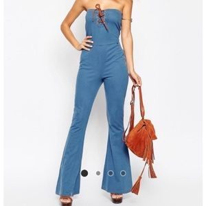 "✨ASOS"" 70's Soft Denim Jumpsuit!"