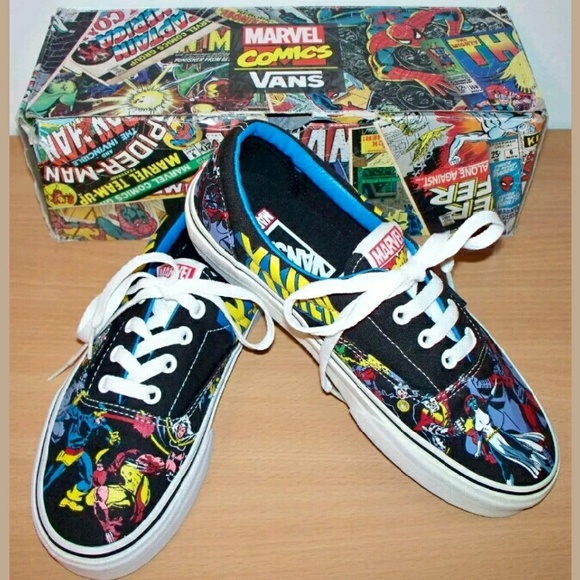 VANS Era X-MEN Marvel Comic lo skate sneakers 02b145b2e8df