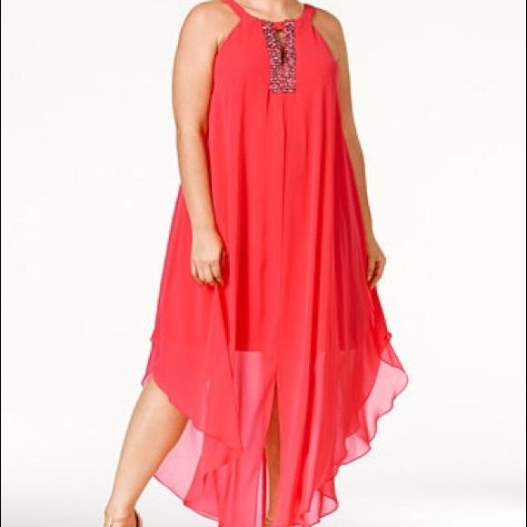 Betsy & Adam Dresses | Plus Size Betsy Adam Beaded Dress | Poshmark