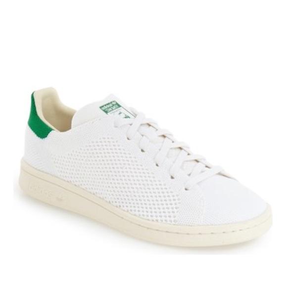 Zapatillas adidas Stan Smith primeknit tejido blanco tamaño de la zapatilla de deporte 8