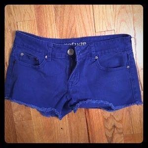 refuge Pants - Blue Shorts