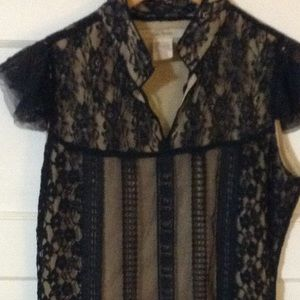 Free people lace black dress