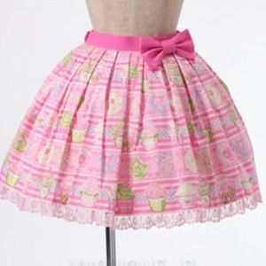 348ddd15c Japanese Skirts | Angelic Pretty Whipped Magic Skirt S L | Poshmark