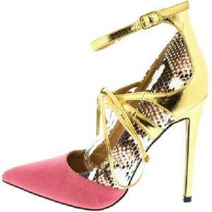 Alba Shoes - 64 Jamie Coral Pumps
