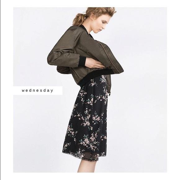 aeaa16b5 Zara Dresses | Floral Lace Slip Dress Size Sm Nwt | Poshmark