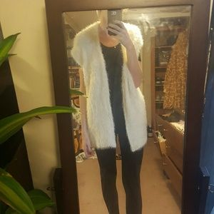H&M Jackets & Blazers - H&M teddy vest sweater