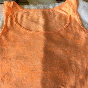 xxl sleeveless old navy orange tshirt