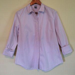 Striped Gap Women's Button Down Size L
