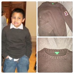 United Colors Of Benetton Other - United Colors of Benetton Boys Sweater sz XL 10/11