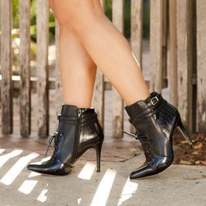 Altuzarra Shoes - Altuzarra for Target Black Leather Pointed Boots