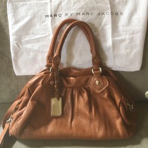 Marc by Marc Jacobs Classic Q leather satchel