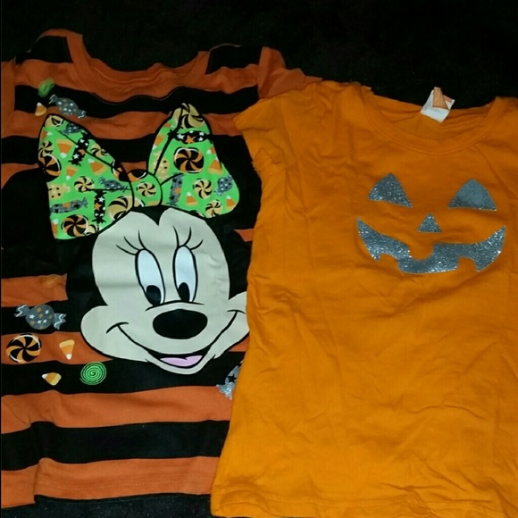 girls halloween tees