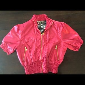 Ecko Unlimited Jackets & Blazers - Ecko Pink Mini Jacket
