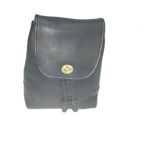 Coach Handbags - Black Leather Backpack
