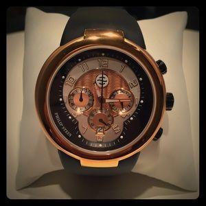 Philip Stein Teslar Accessories - 🎉HP🎉 NWT Philip Stein Teslar Chronograph Watch