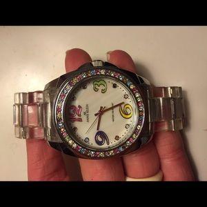 Anne Klein Watch (rainbow/clear)