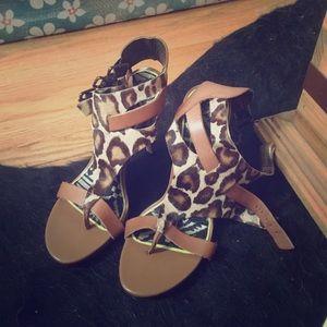 Sam Edelman leopard heels- Lucia