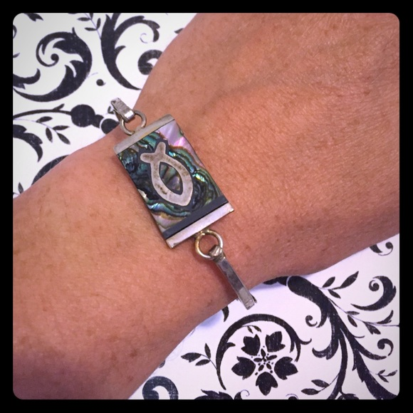 Jewelry Abalone Christian Fish Symbol Bracelet Poshmark
