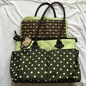 87 off carter 39 s handbags navy and orange carter 39 s diaper bag like new from jina 39 s closet on. Black Bedroom Furniture Sets. Home Design Ideas