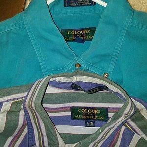 3.1 Phillip Lim Other - 2 Men's Colours by Alexander Julian Shirts