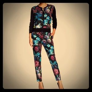 Ted Baker London 'Kaify' Floral Print Pants