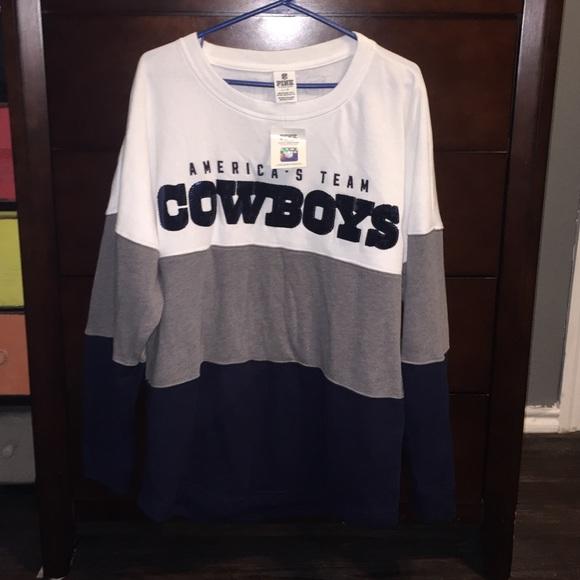 2c8395ac NWT Pink Victoria Secret Dallas Cowboys sweater NWT