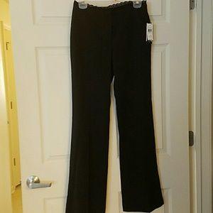 A. Byer Pants - 💓NWT STRETCH BLACK WORK PANTS/CUTE LACE💓