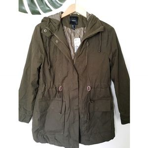 Forever 21 Jackets & Blazers - Forever 21 Utility Jacket with Hood