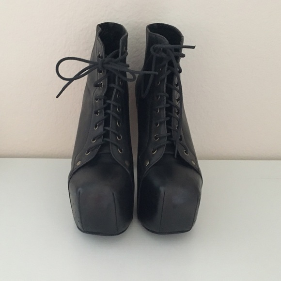 59 off jeffrey campbell shoes jeffrey campbell black lita booties from natalia 39 s closet on. Black Bedroom Furniture Sets. Home Design Ideas