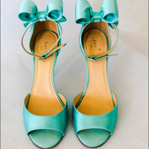 58 off kate spade shoes kate spade tiffany blue bow kate spade tiffany blue bow back sandals junglespirit Gallery