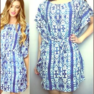 Tyche Dresses & Skirts - MOVING SALE! Tribal print dress -  so comfy