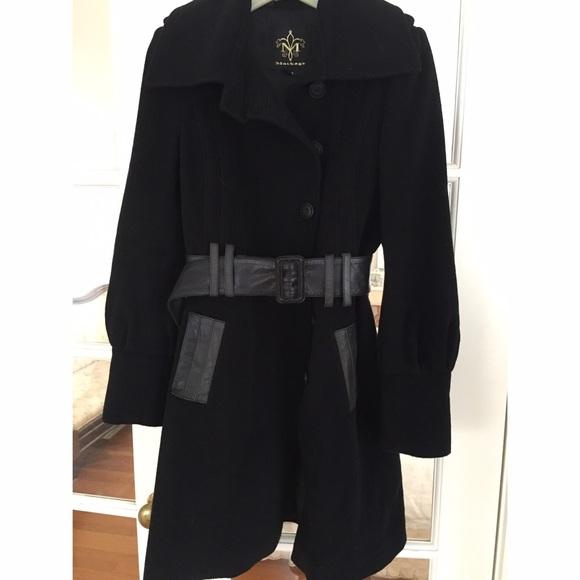 071bdbc3ace Mackage Jackets   Blazers - Mackage wool coat with leather belt