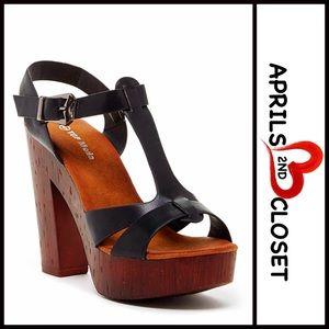 Top Guy Shoes - ❗️1-HOUR SALE❗️Chunky Platform Heel Sandals