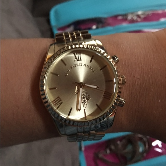 Us Tone Womens Watch Polo AssnGold Ygv7byf6